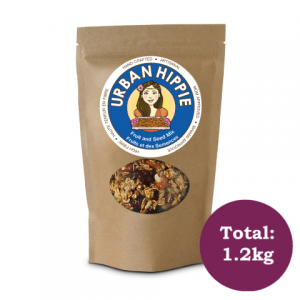 Bag of Urban Hippie Fruit and Seed Granola