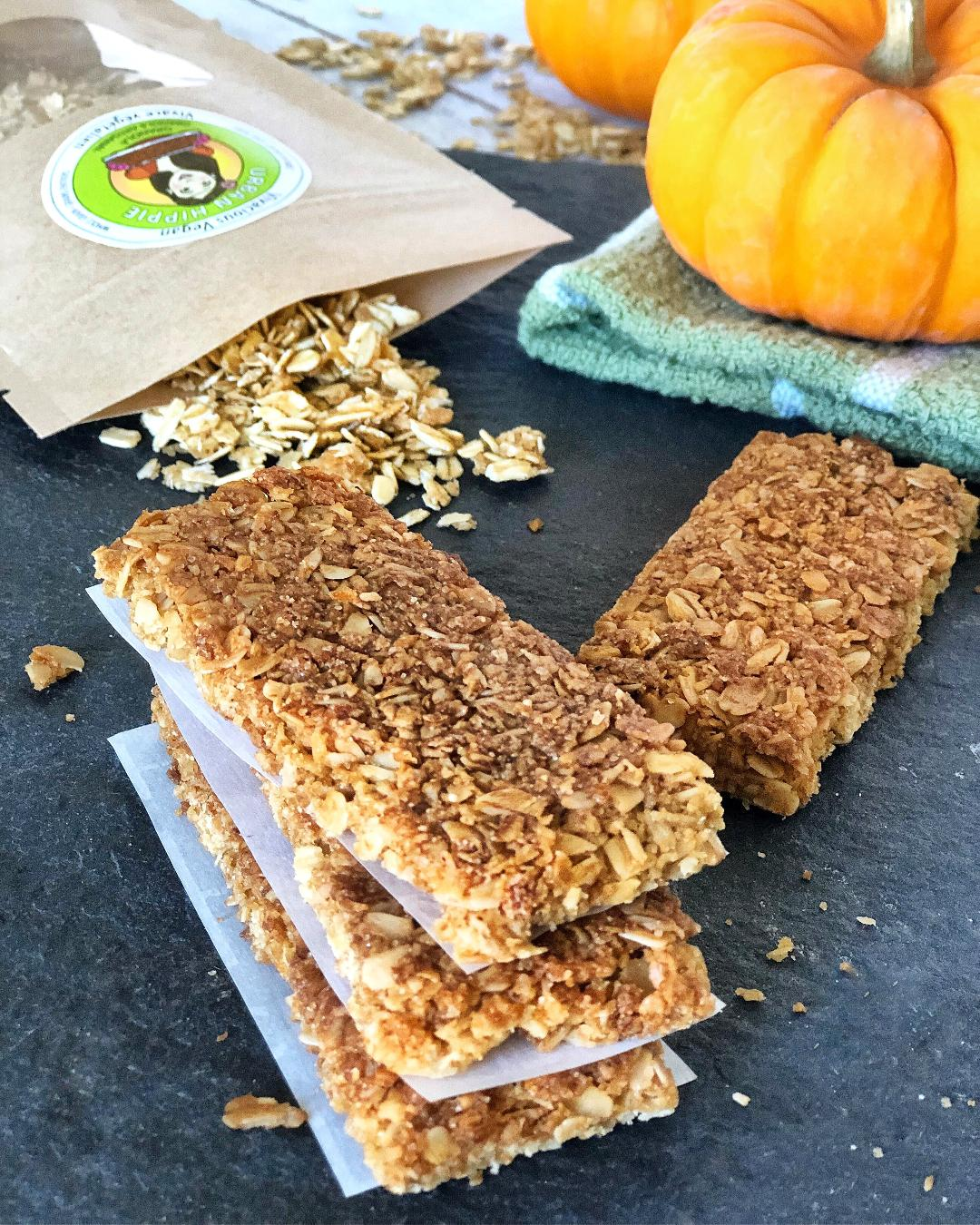 Granola-cereal-urban hippie-oats and honey granola bars-recipe